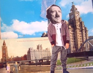 DID HITLER ONCE LIVE IN LIVERPOOL?