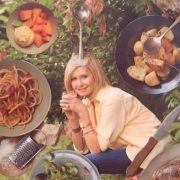 Olivia Newton-John cooks