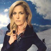 Gillian in snow