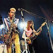 Roxy Music stage Manzanera