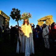 Pagans at henge